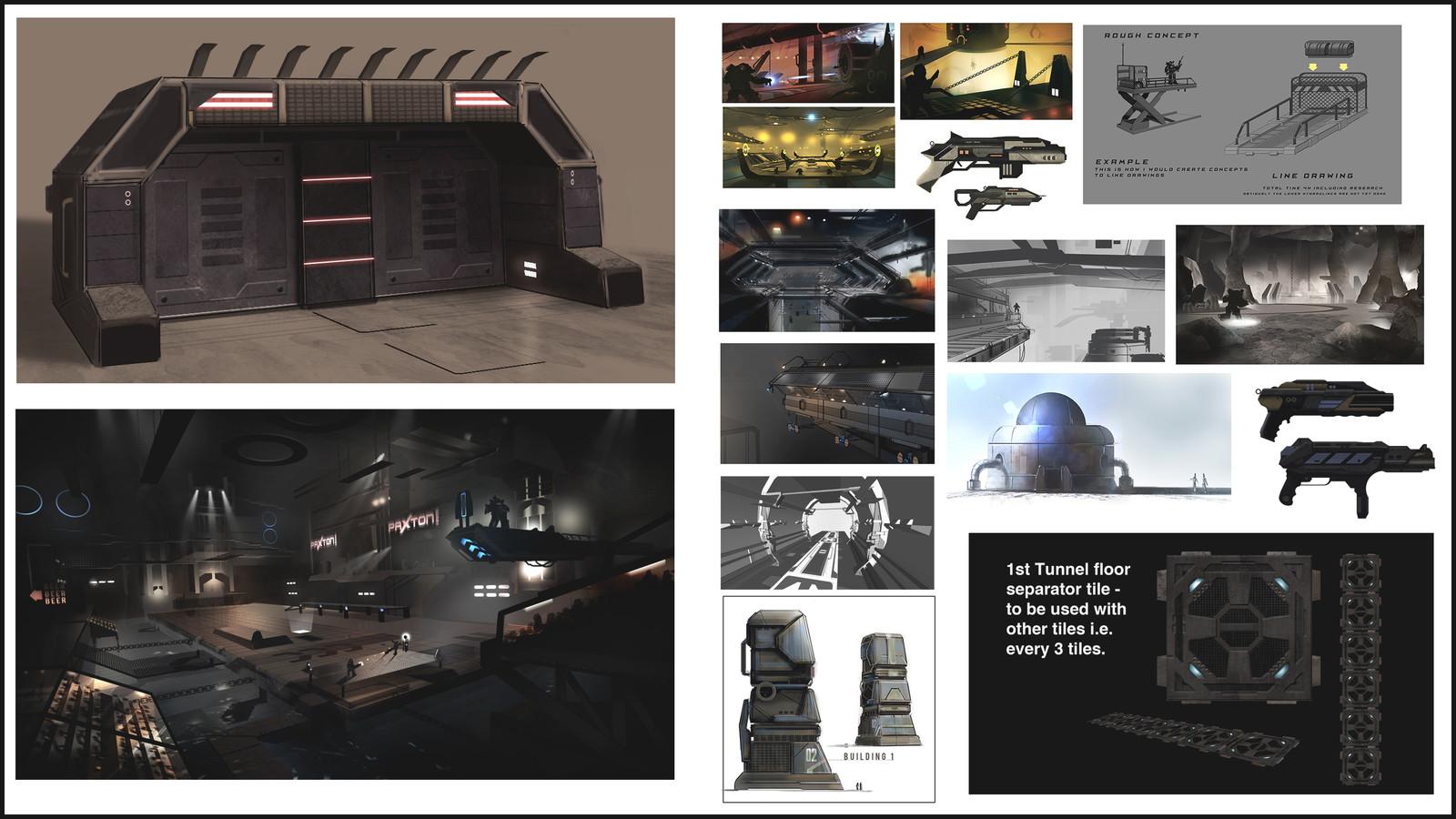 Heavy Gear Concepts 3 - 2013