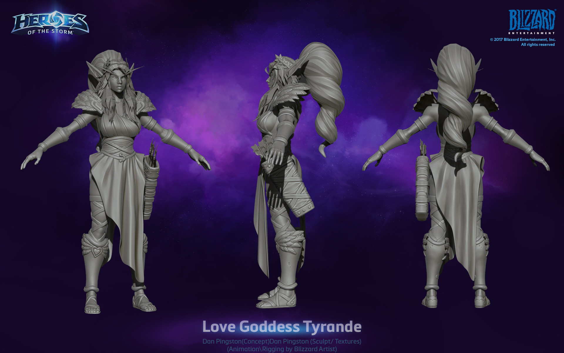 Dan pingston dan pingston lovegoddesss tyrande hots3