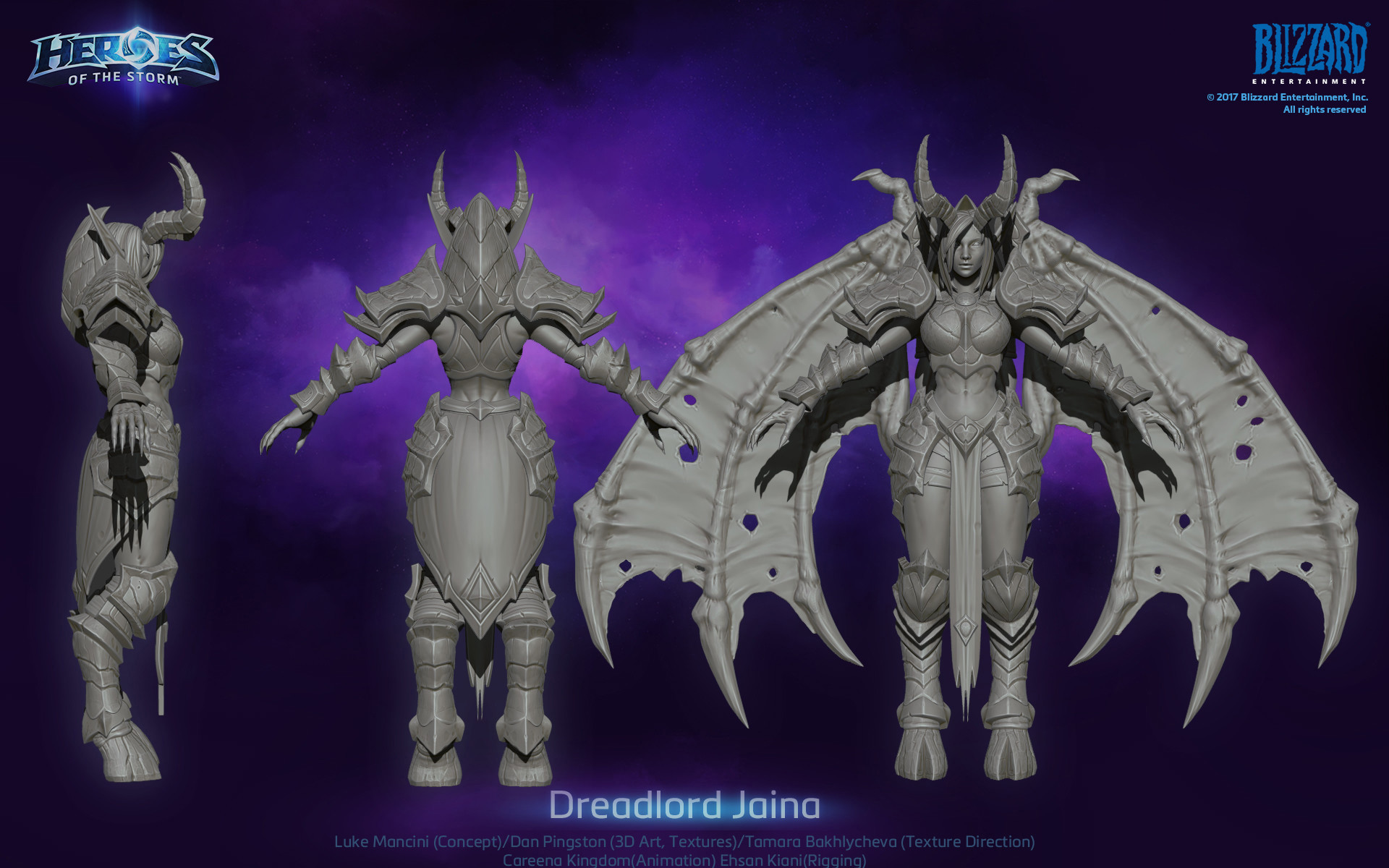 Dan pingston dan pingston jaina hots sculpt
