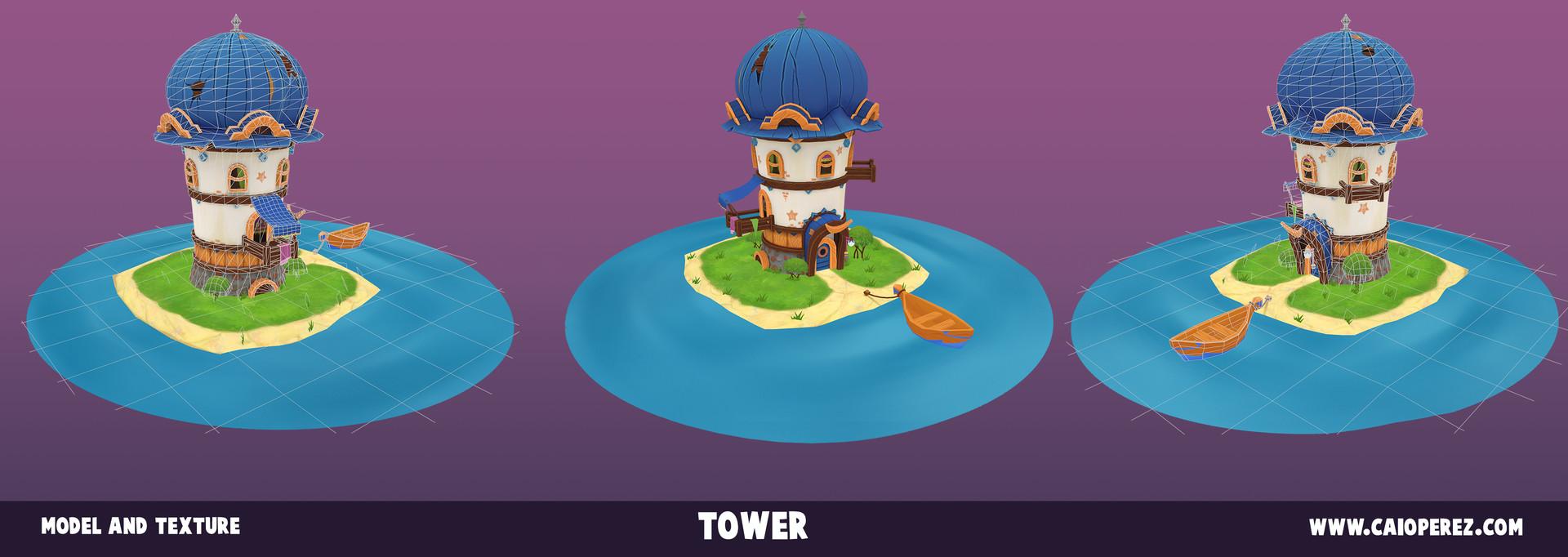 Caio perez torre render