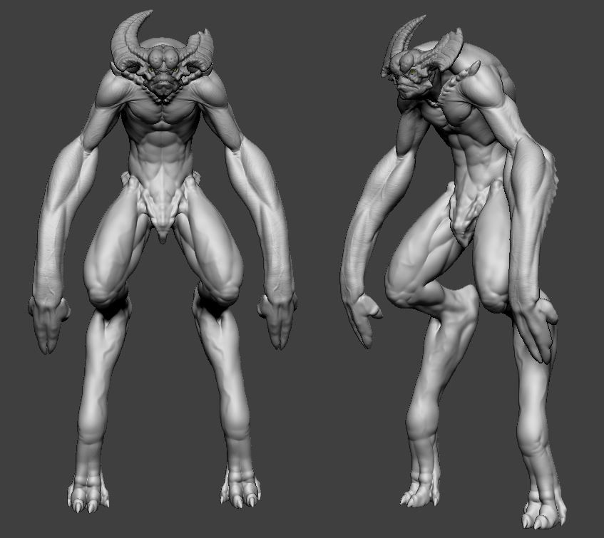 Continued with fleshing out some secondary forms. (Class 2-3)