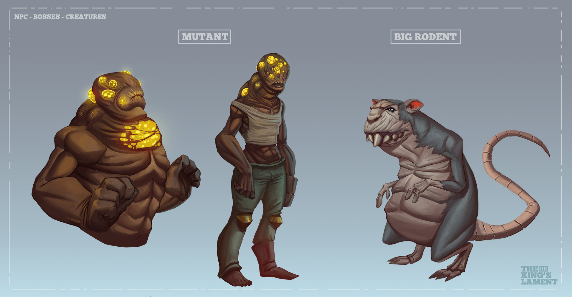 NPC - BOSSES - CREATURES