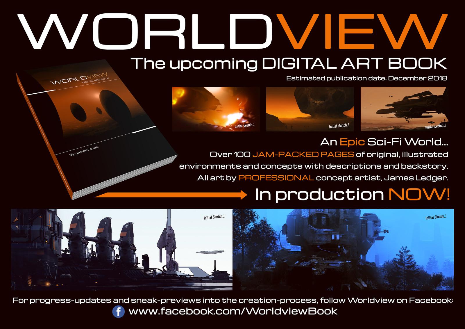 Worldview: Digital Art Book (project) - 2017