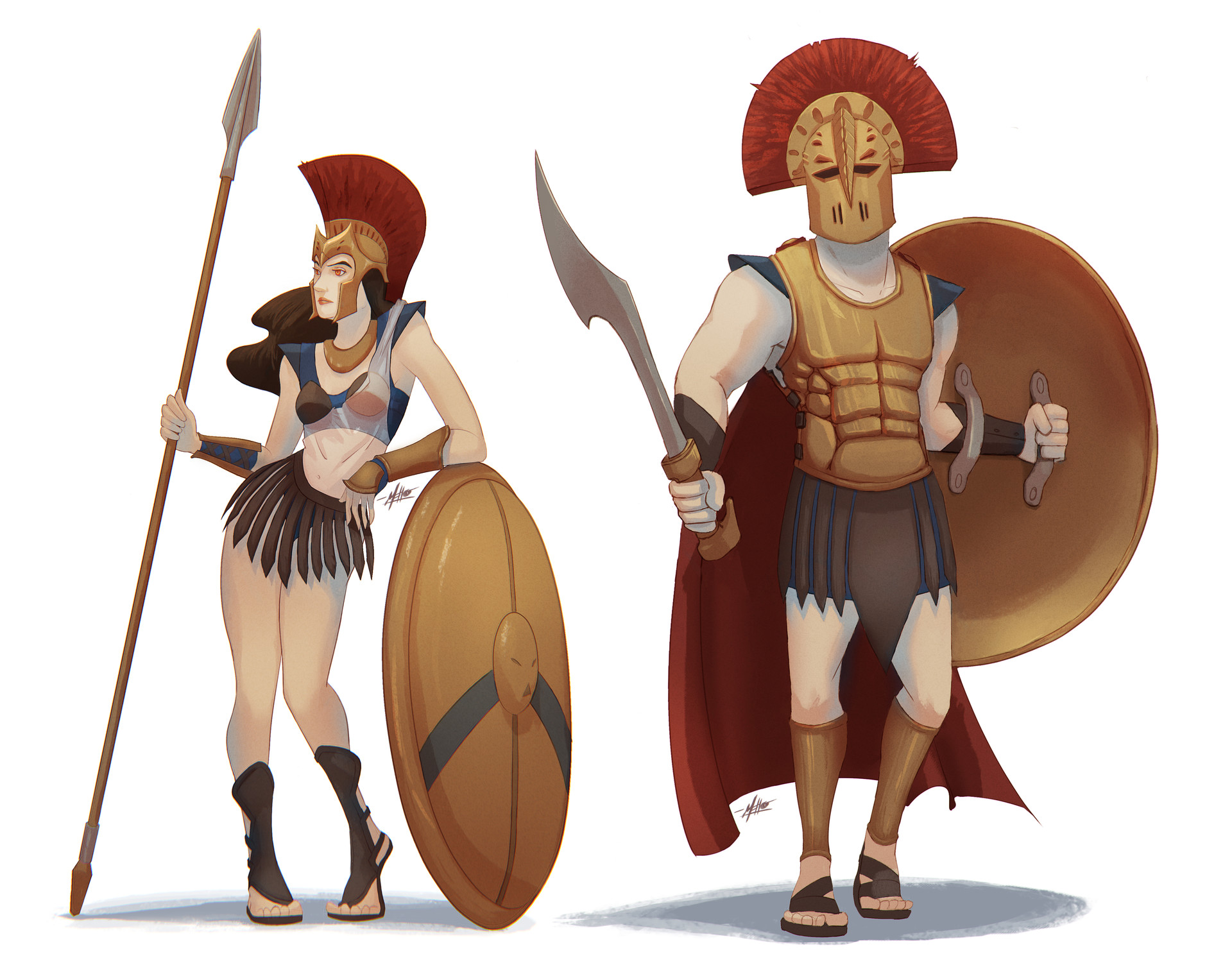Michelle lo greek gods lineup 02