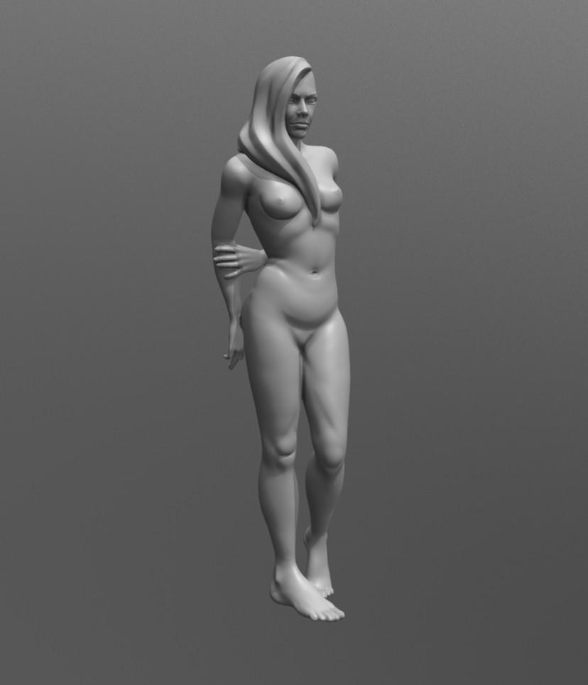 Nude Figure Study