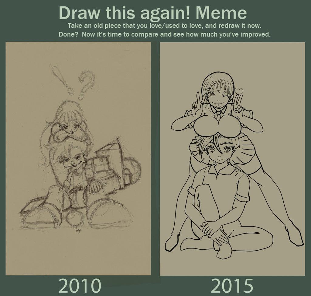 Mirsha De Los Barrios Draw This Again Meme Challenge