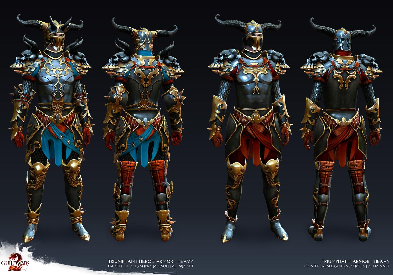 Guild Wars 2 - Heavy Male Triumphant Armor