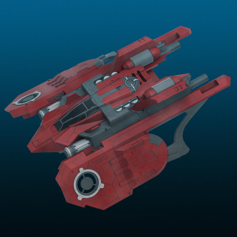 Andrew hodgson spaceship001