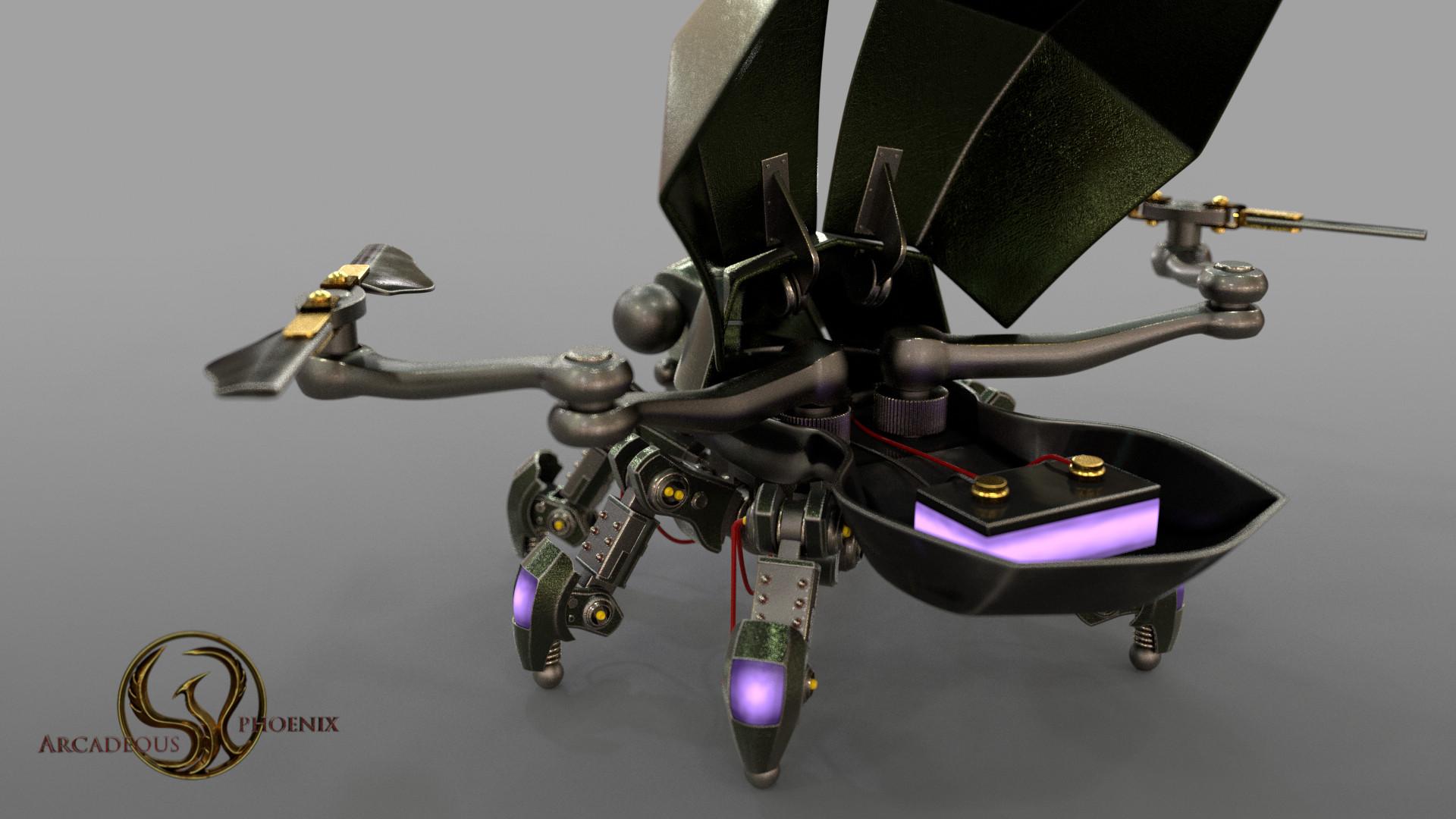 Arcadeous phoenix scarab v9b