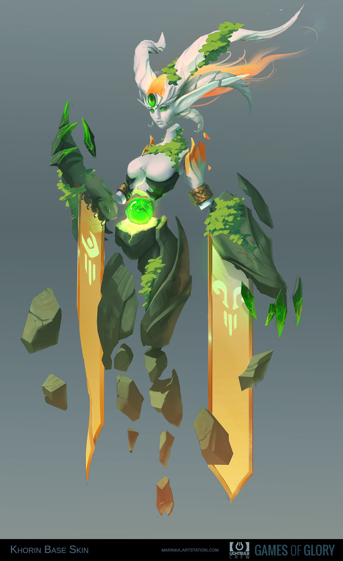 Khorin - nature's goddess Minecraft Map