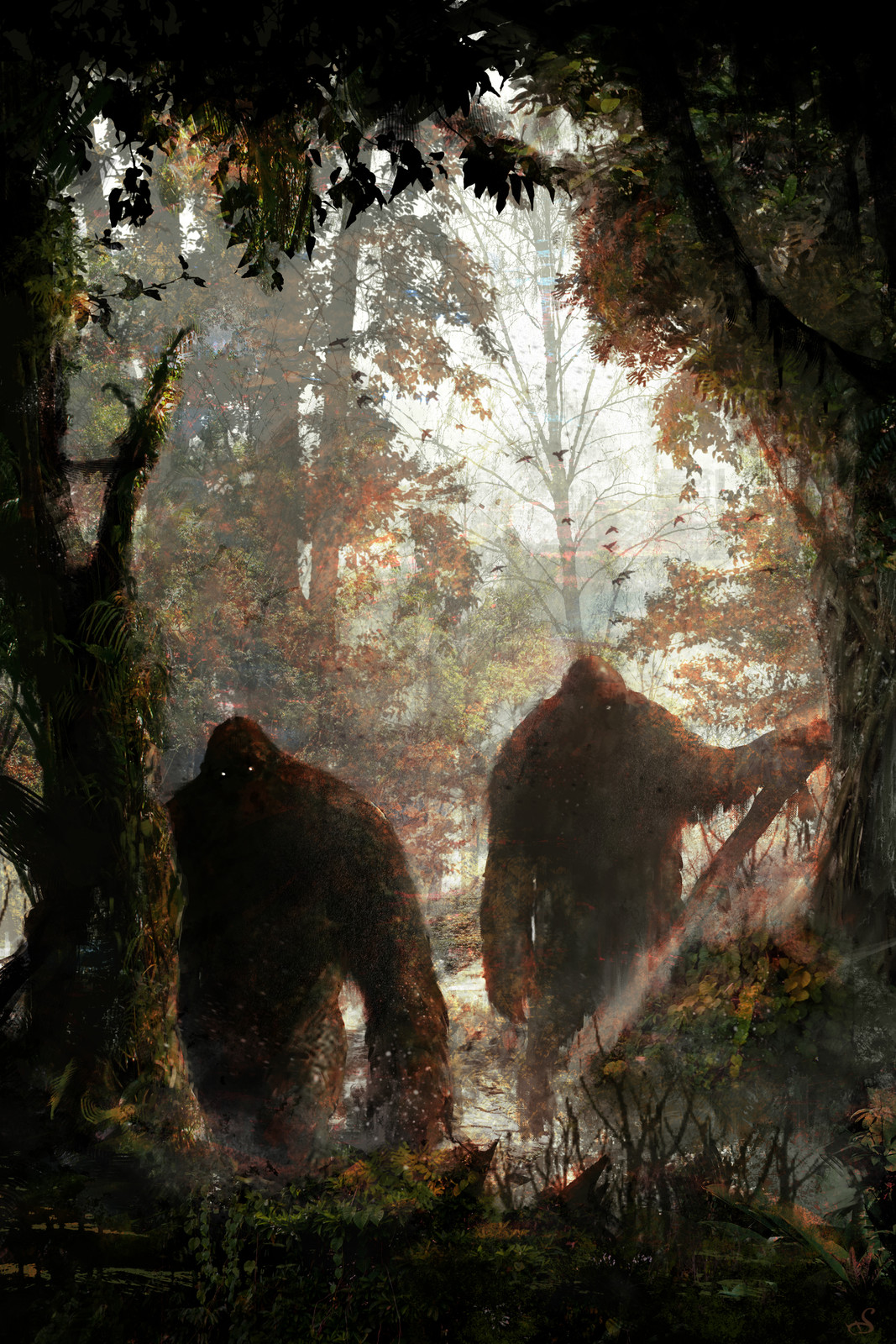 Cool Bigfoot Art