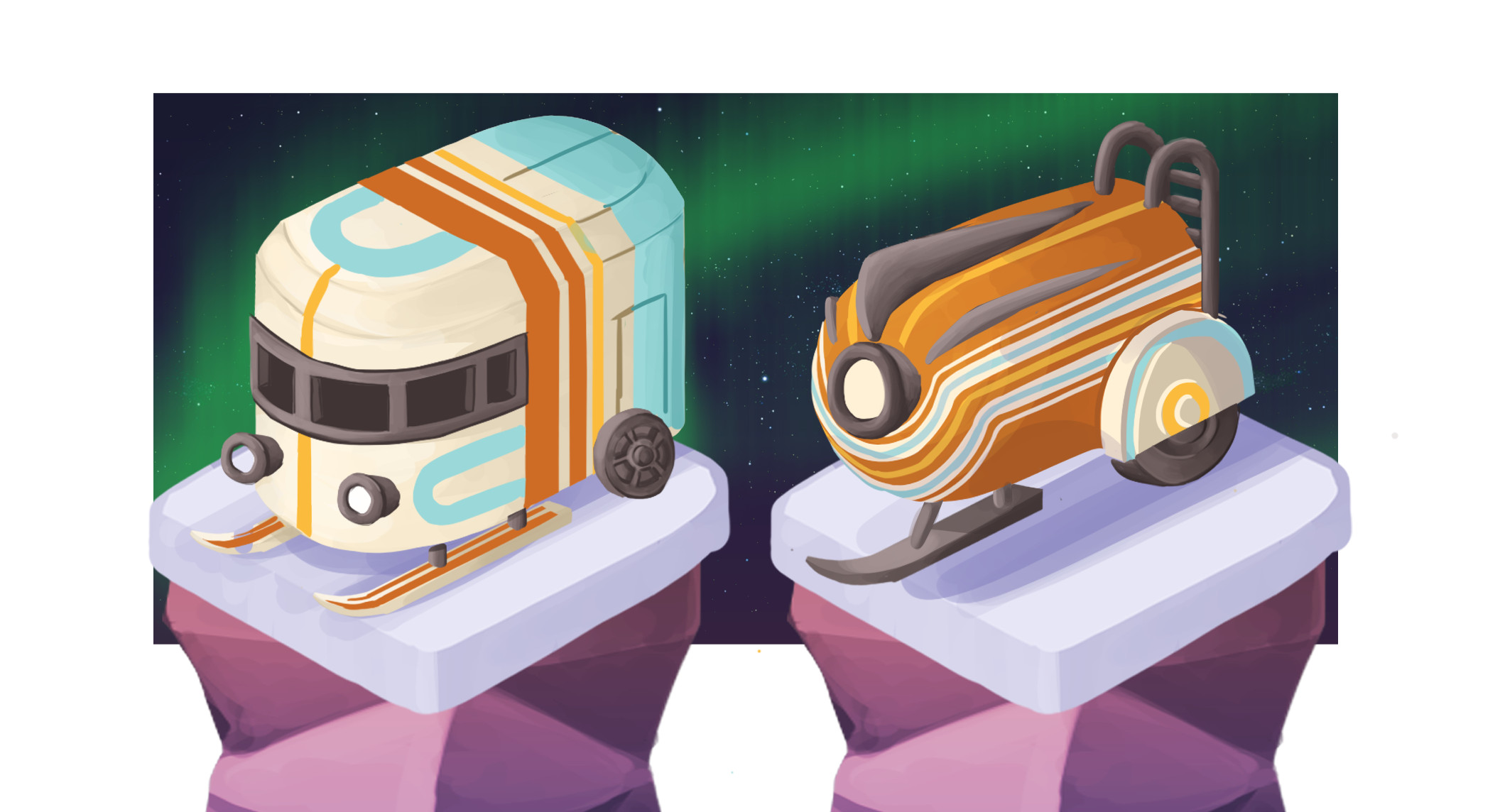 Train ideations
