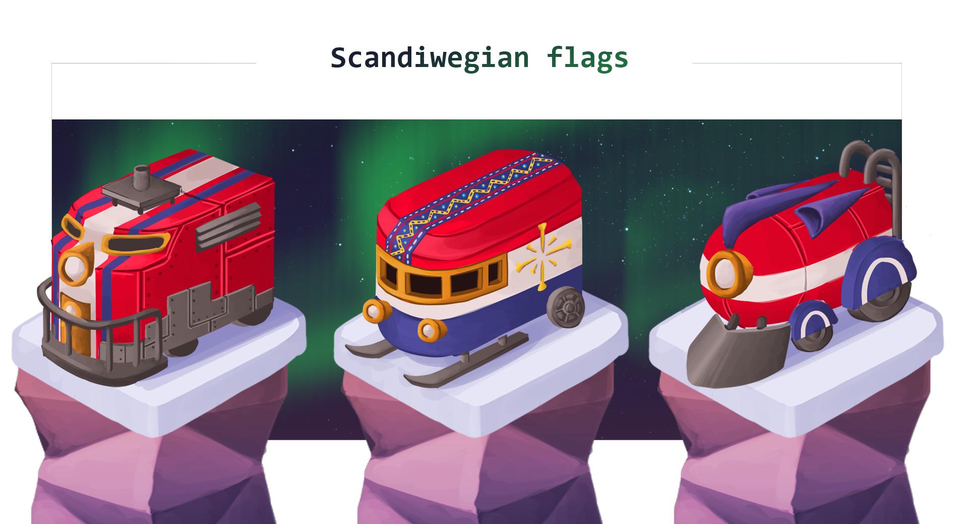 Helen o dell arctic trains scandi