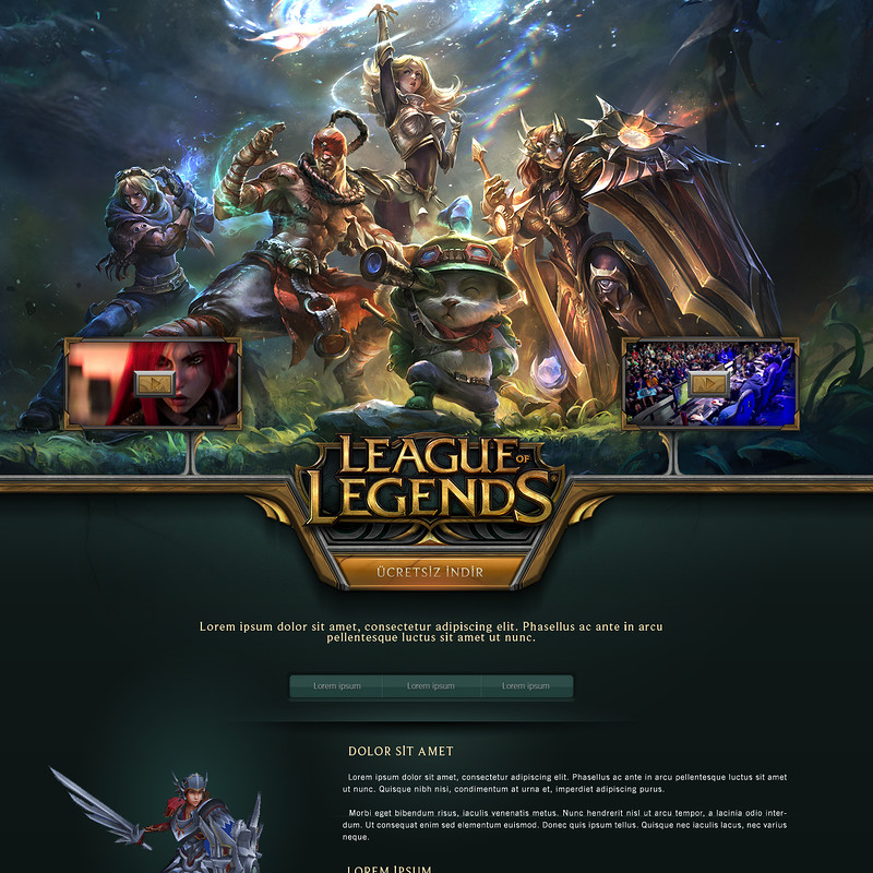 League of Legends Signup