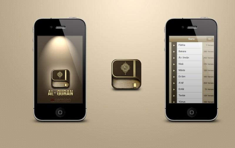 Cem akkaya iquran iphone app ui by cemakkaya d5xmm21