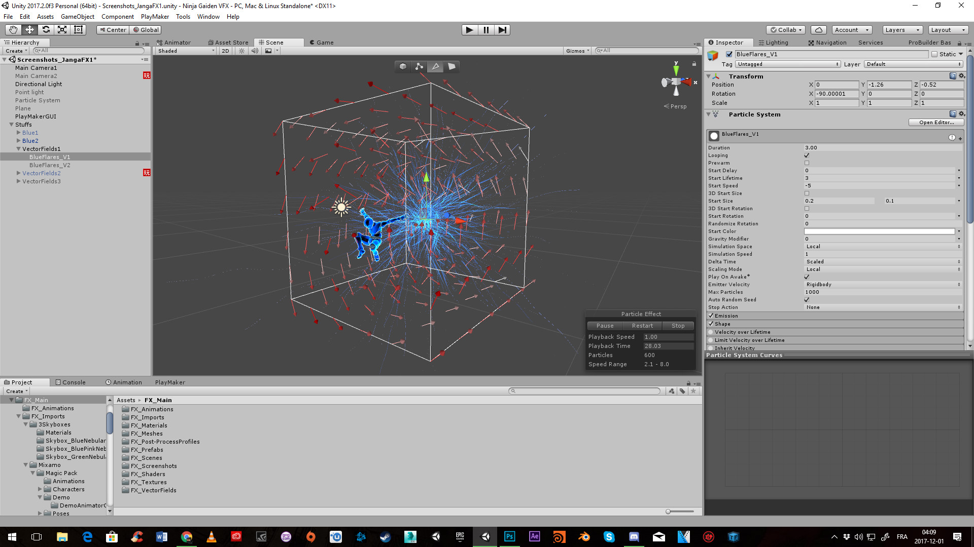ArtStation - Vector Fields - Fluid Simulation an others stuffs