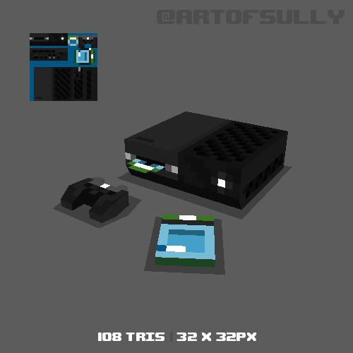 3D Pixel-Art Xbox One