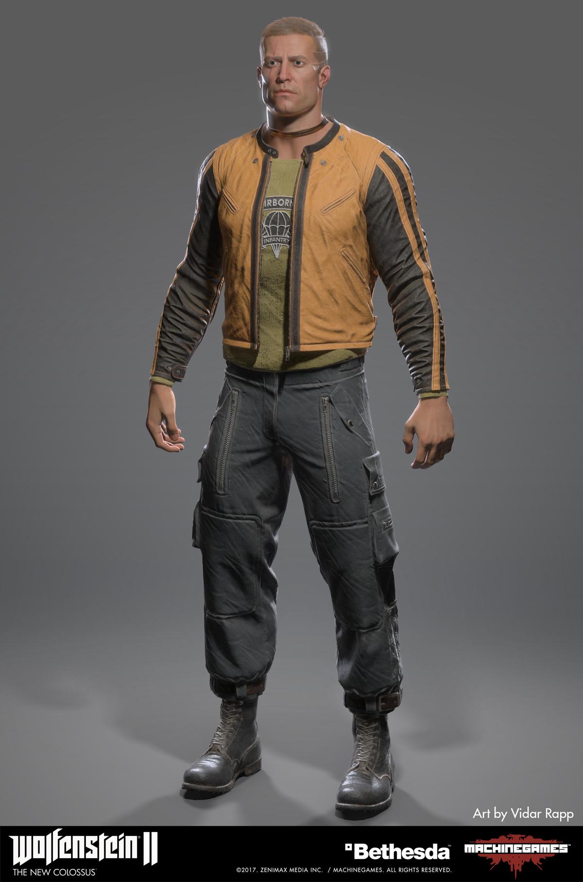 Vidar rapp blazkowicz new jacket front