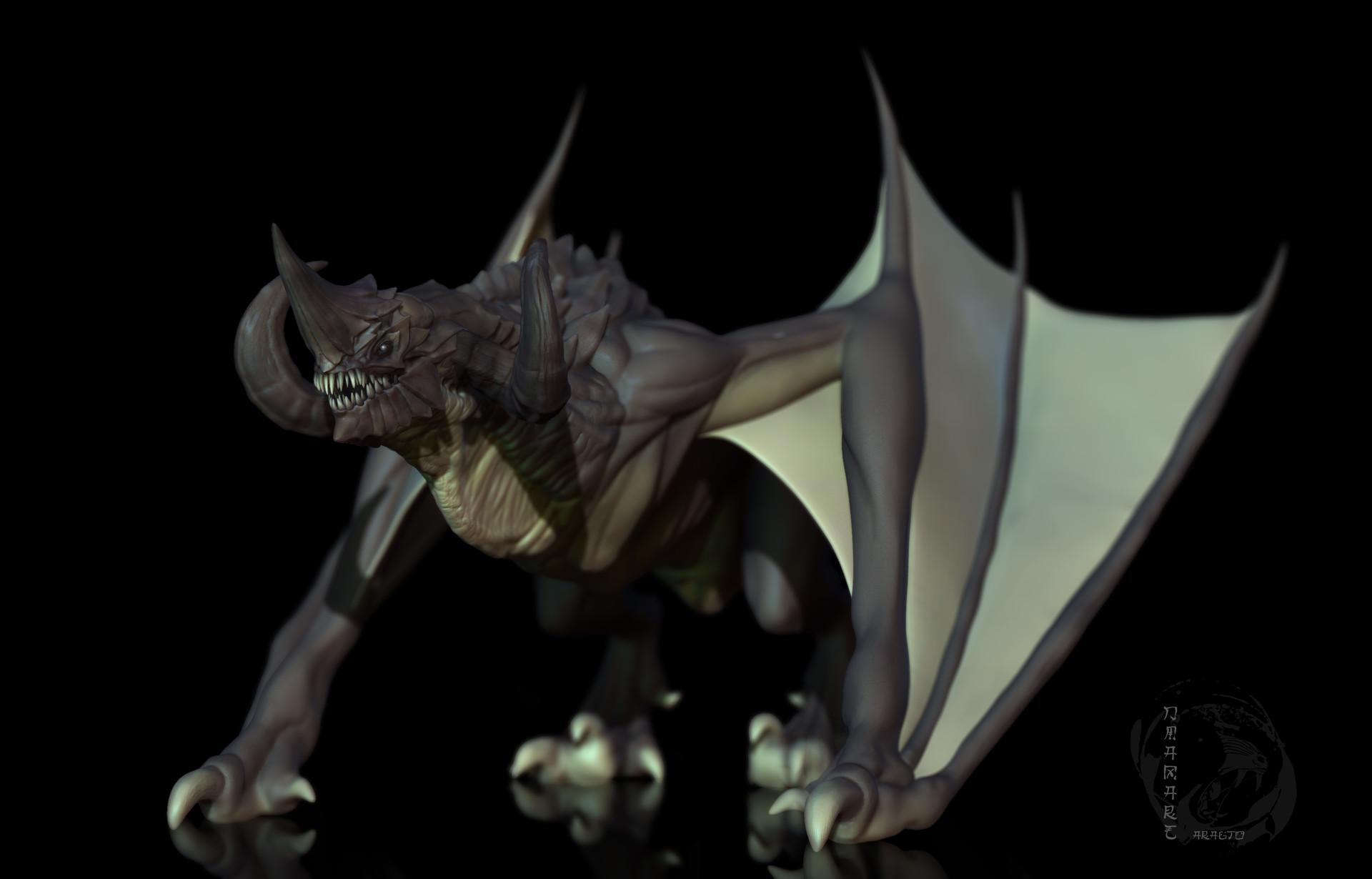 Dimax esteban araujo dragon compo