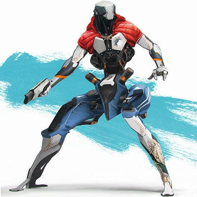 Denys tsiperko robots sketch 2 a
