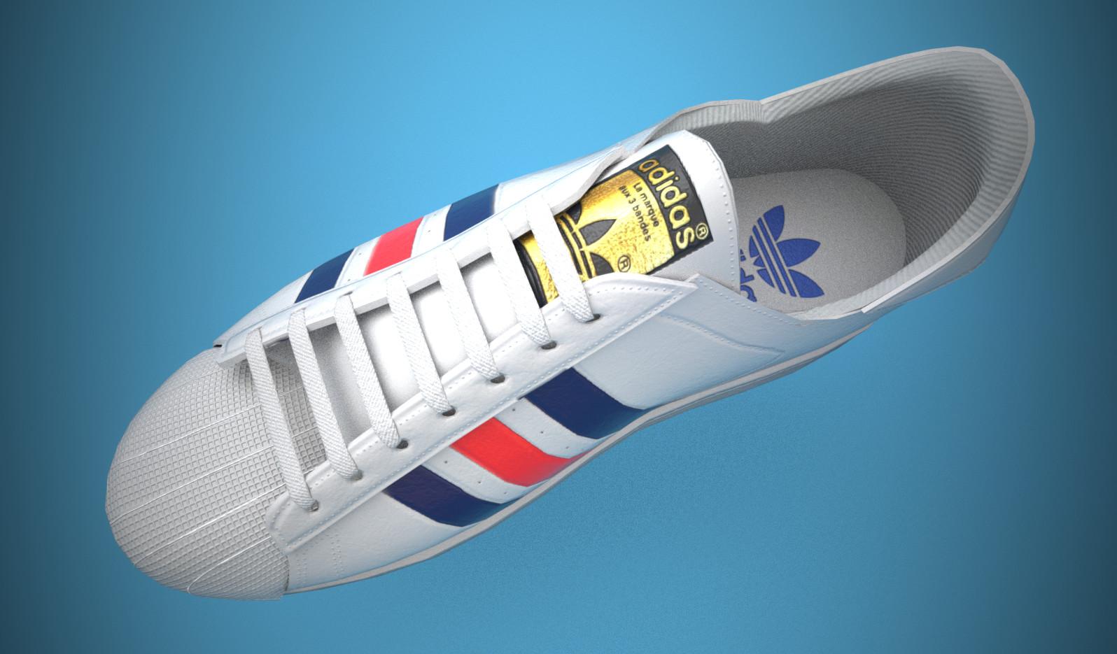 adidas superstar 3d
