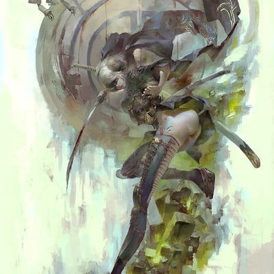 Christian angel 2b artstation
