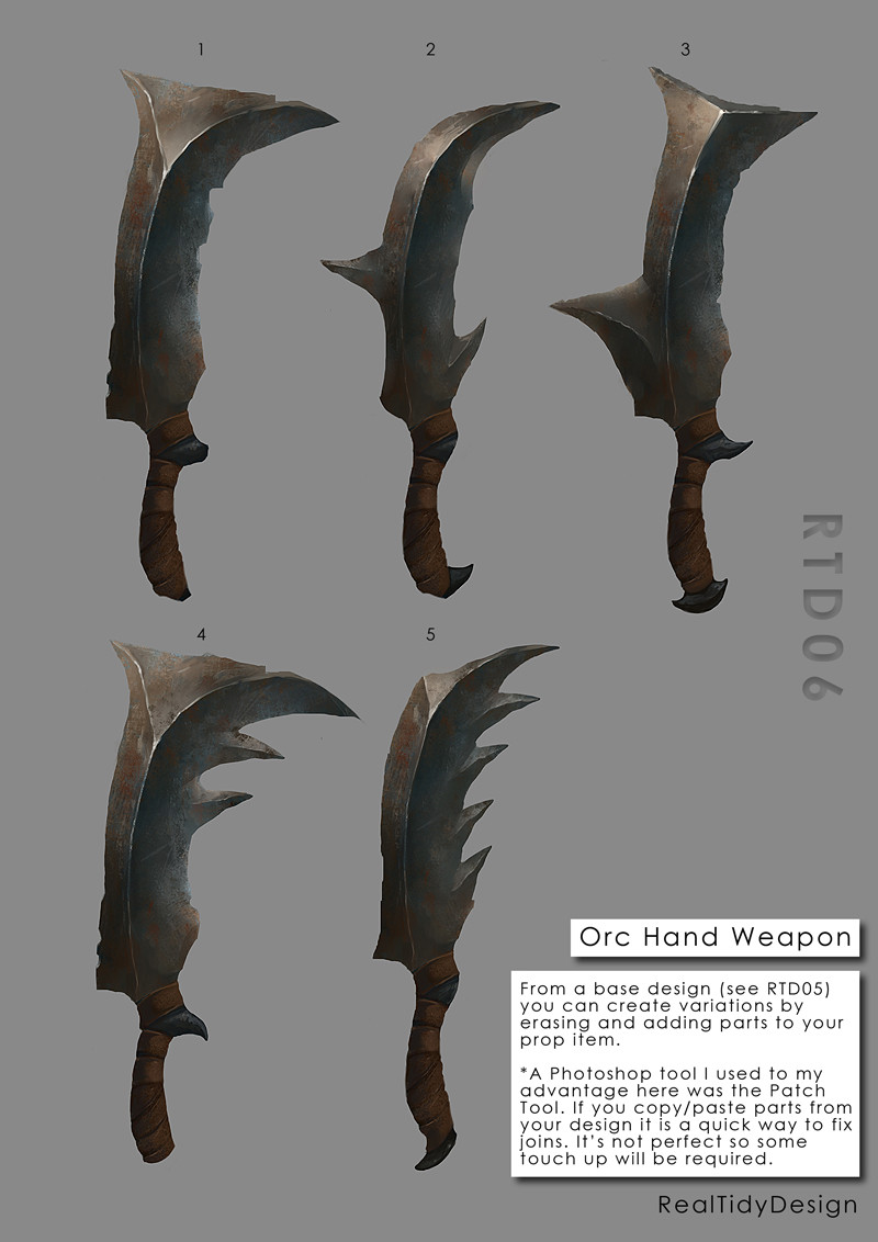 Orc Weapon 04