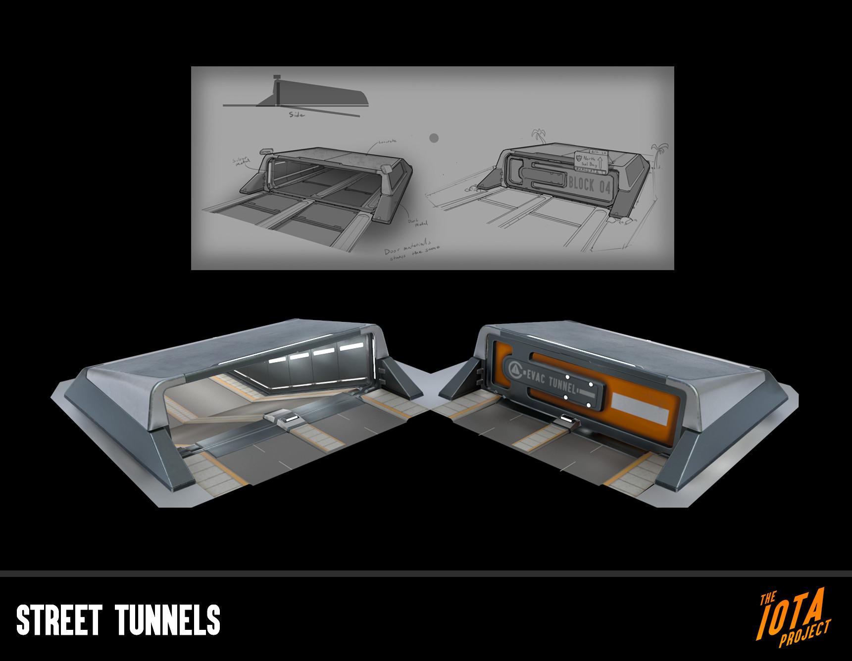 Brenton goodwin street tunnels