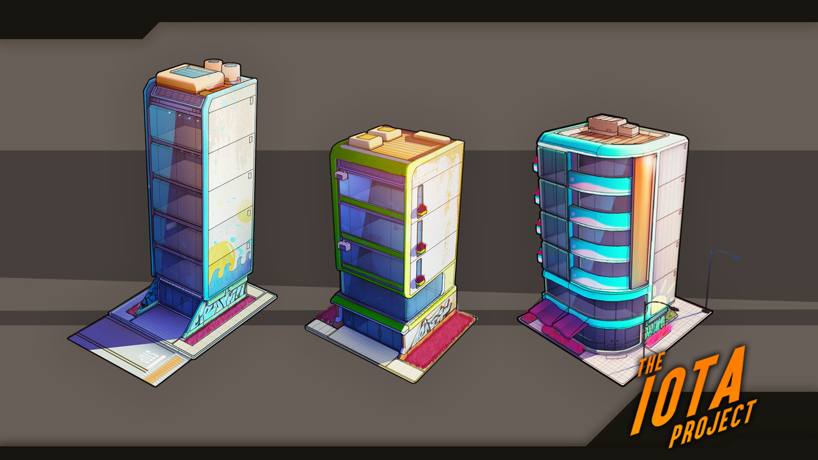 Some early building concepts.