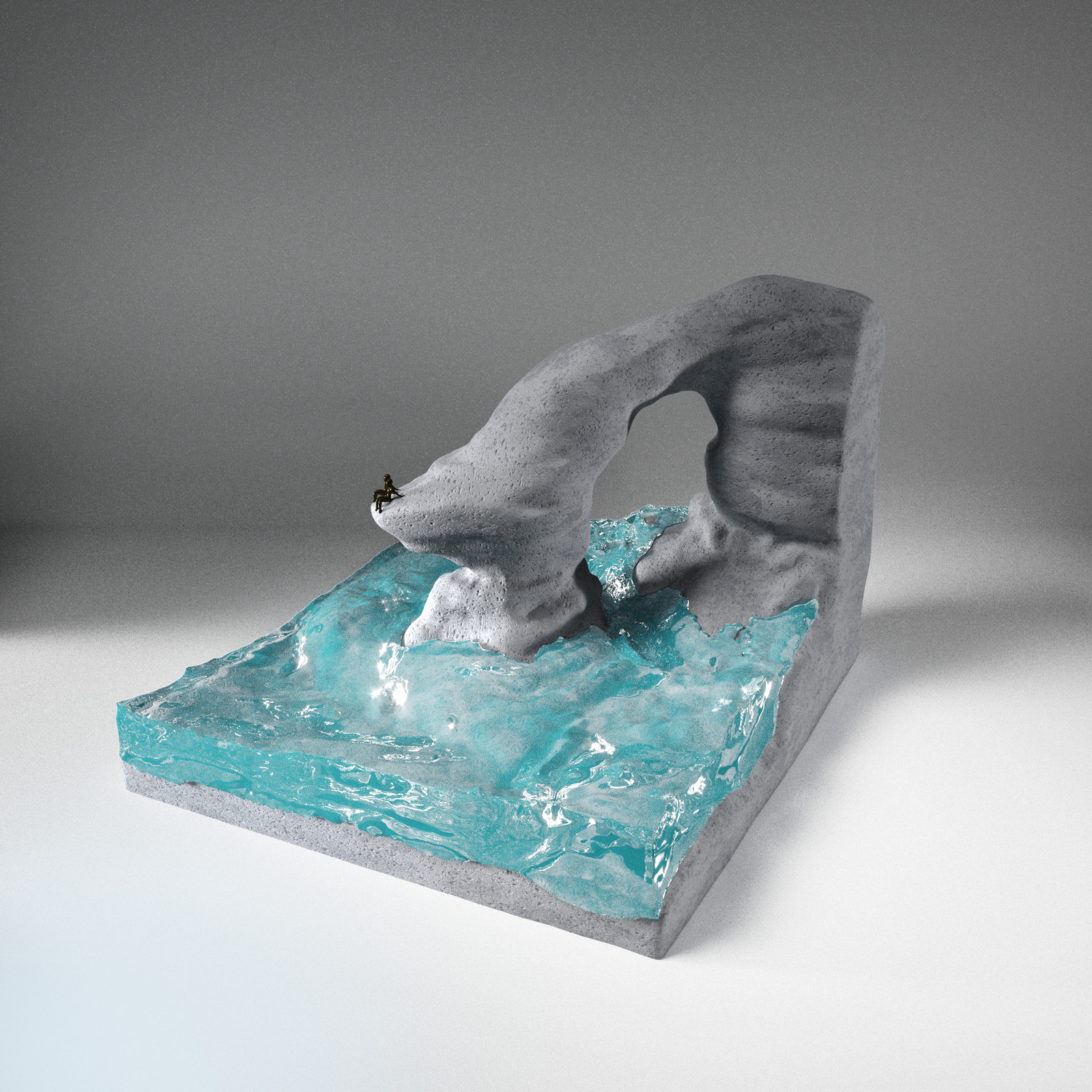 Ben Young Sculpture Study