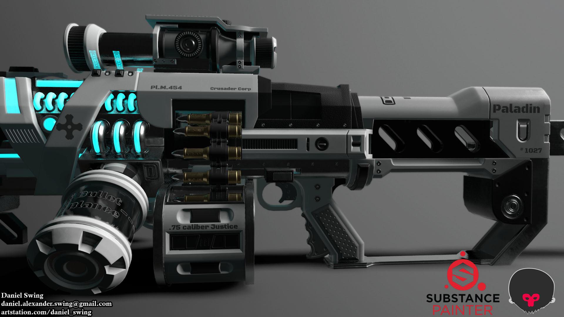 Daniel swing rifle 28