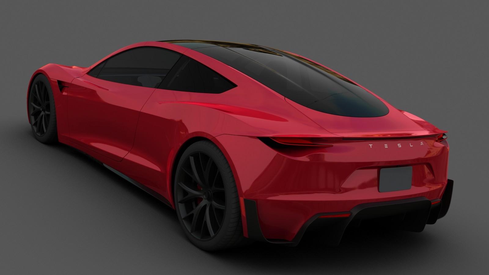 Wiktor Urbańczyk Tesla Roadster 2 0 2020