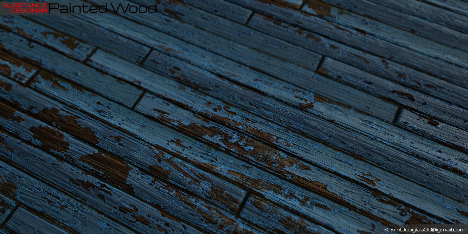 Painted Wood on Plane2