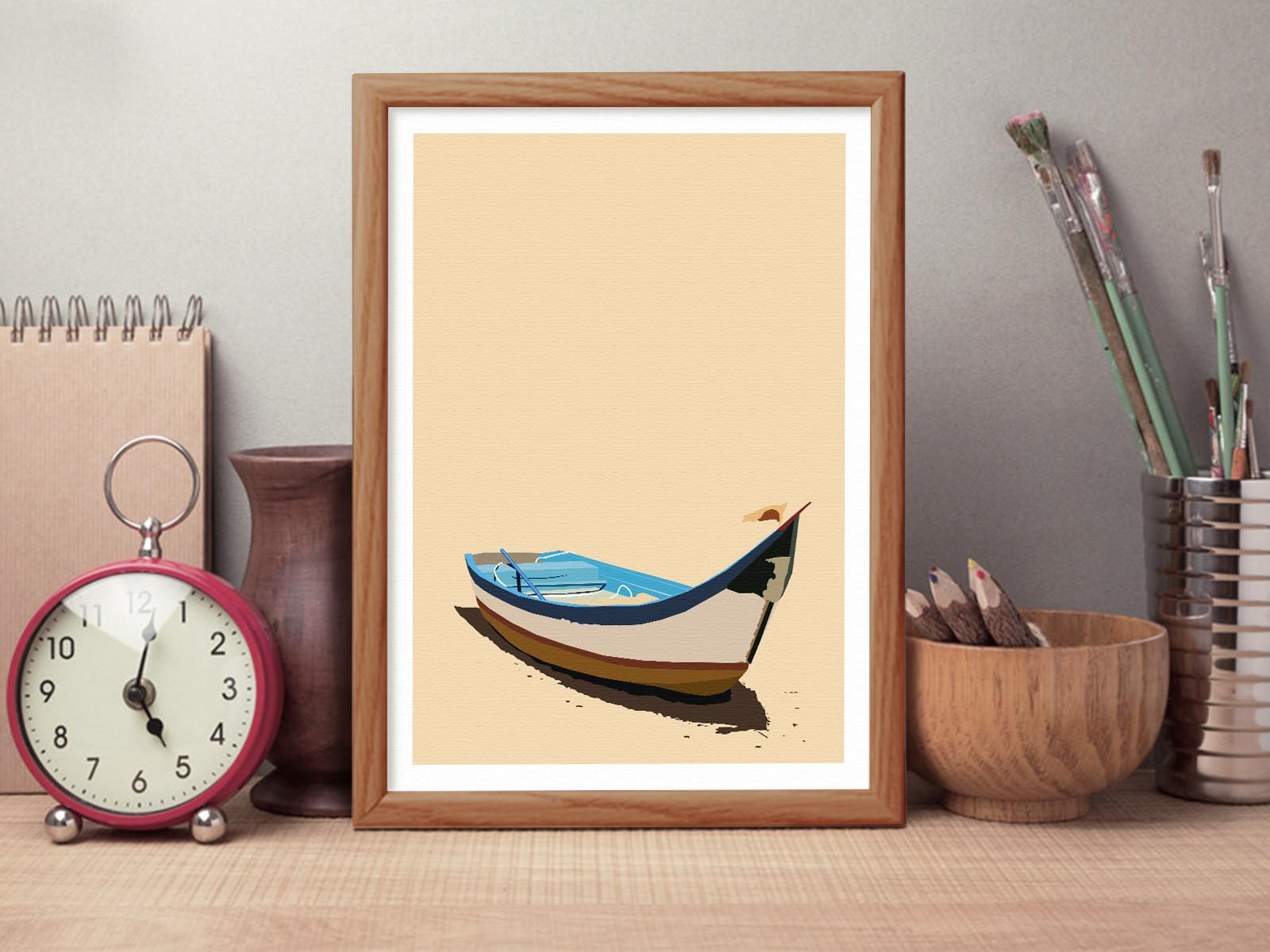 Rajesh r sawant boat on shore