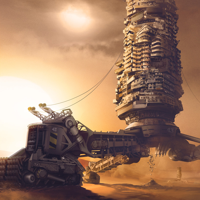 Sand Crawler City