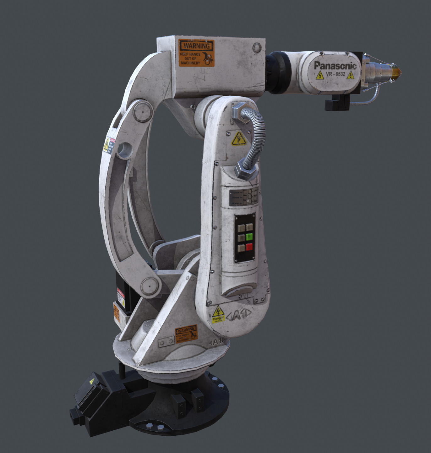 ArtStation - Robotic Arm - Own design, Andrew Phelan
