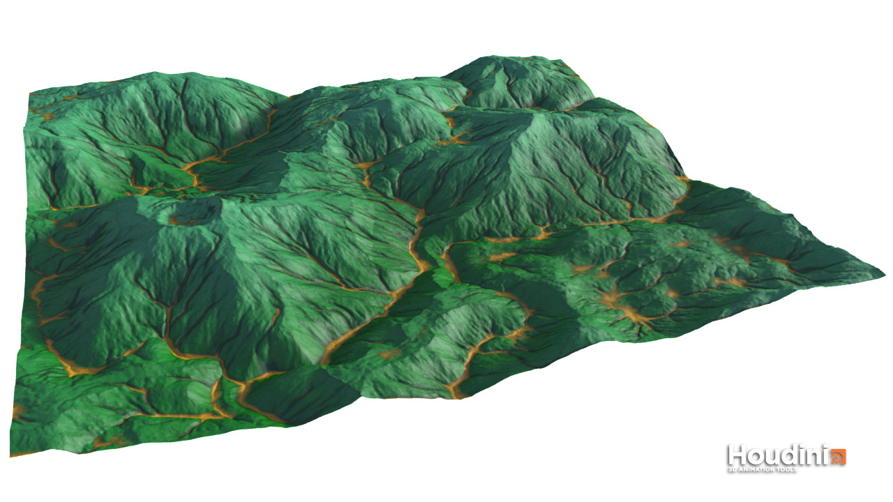 Using the new noises for larger terrain shapes (2)