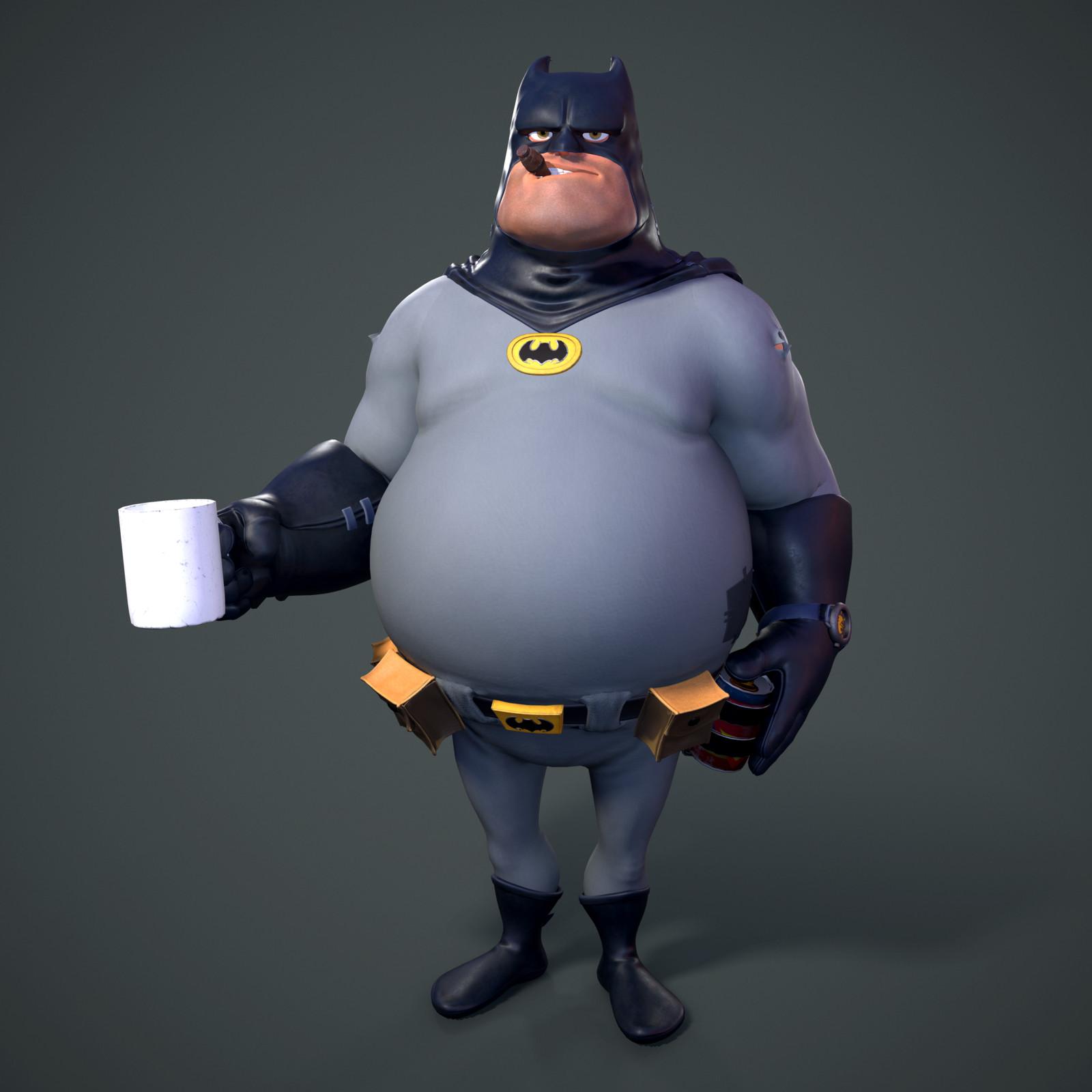 Batman.. but fat