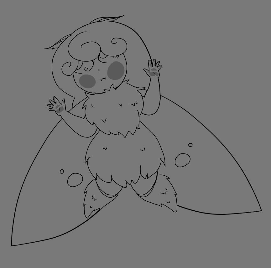 Inktober 1 - Fairy
