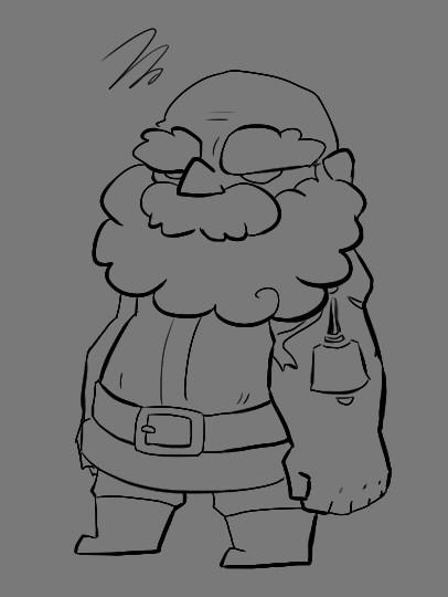 Inktober 7 - Dwarf