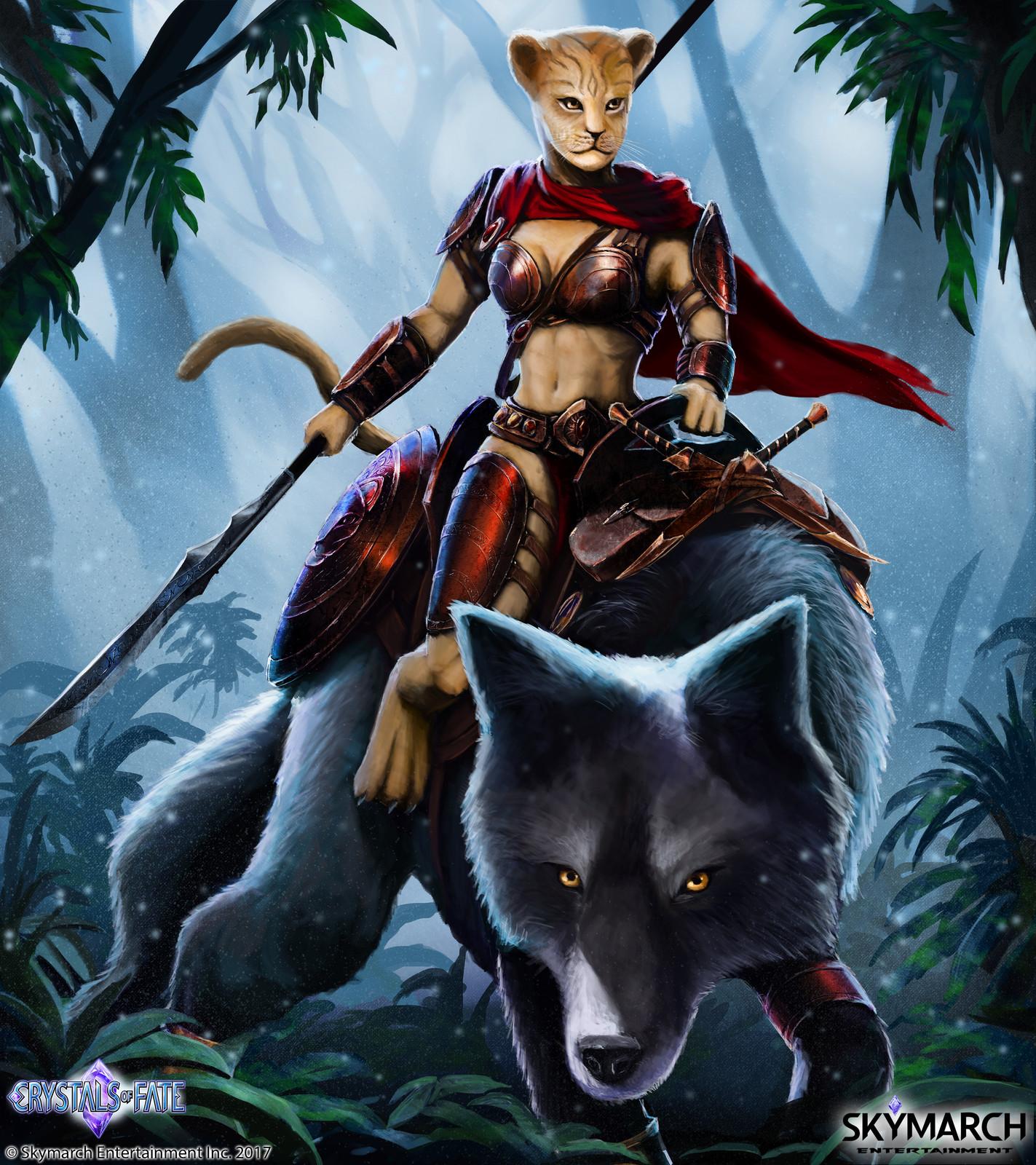 Um'Bari Huntress