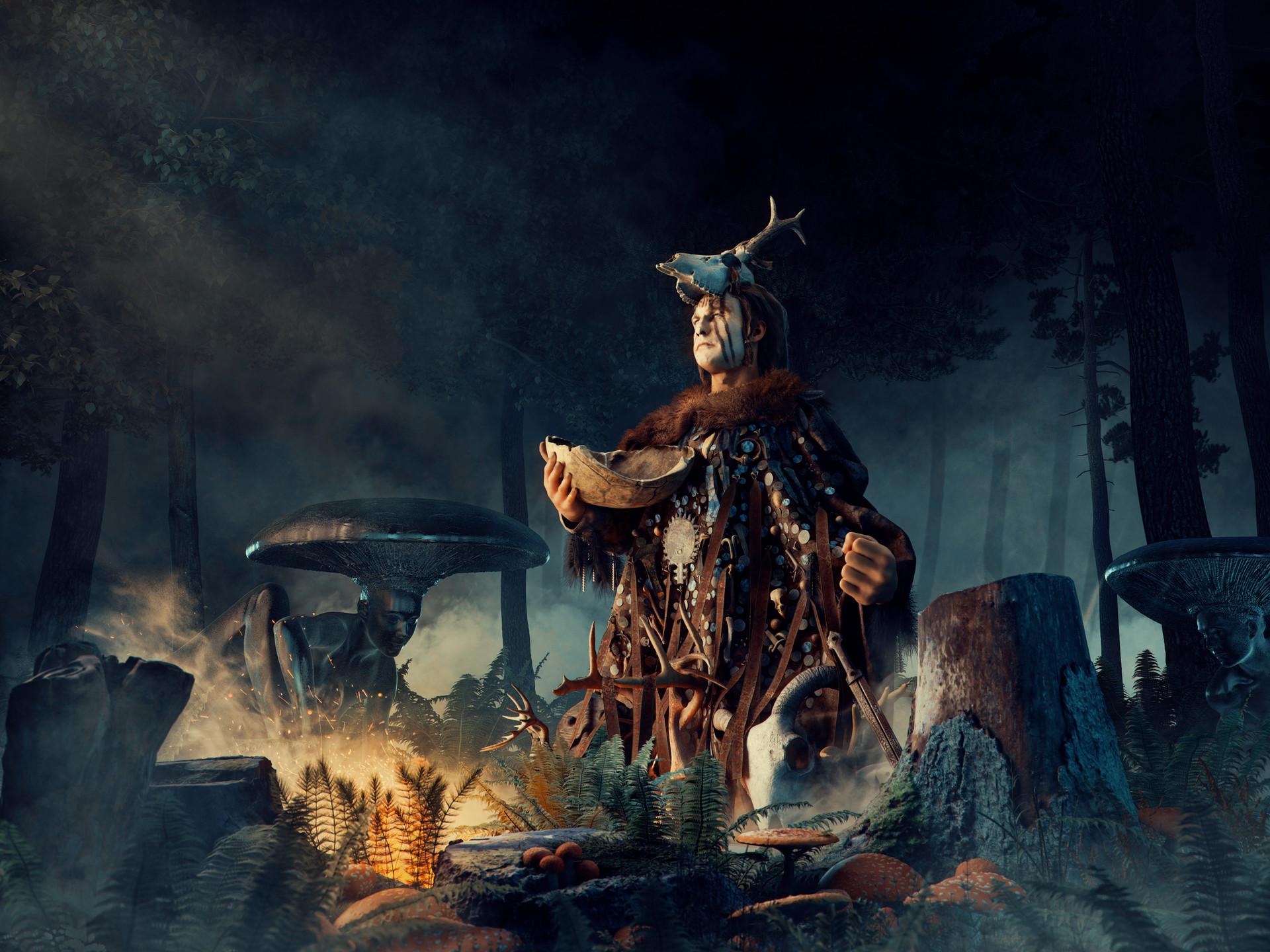 Bartosz domiczek shaman2