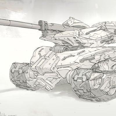 Michal kus tankata enemy light tank final