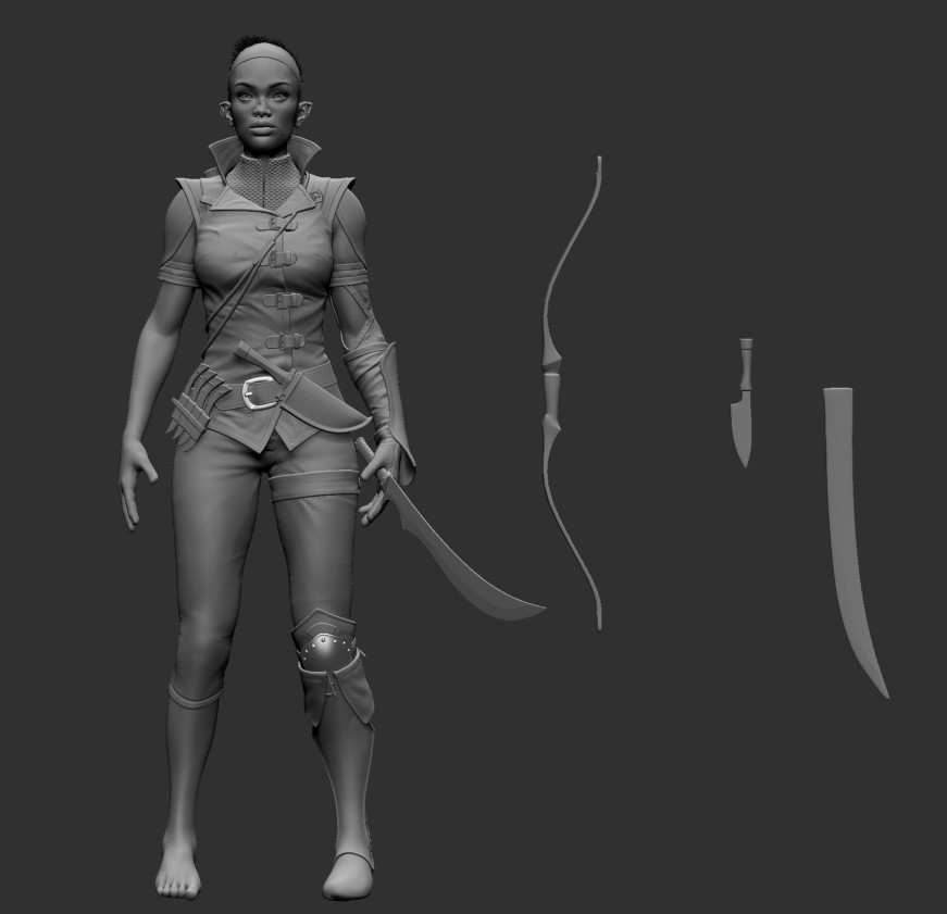 Unusual Elf - WIP