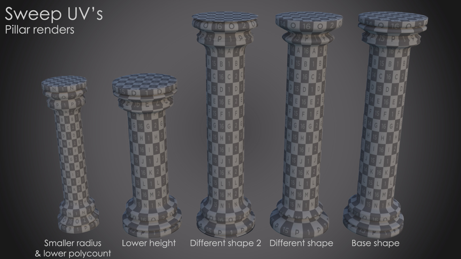 Procedural UVs follow-up