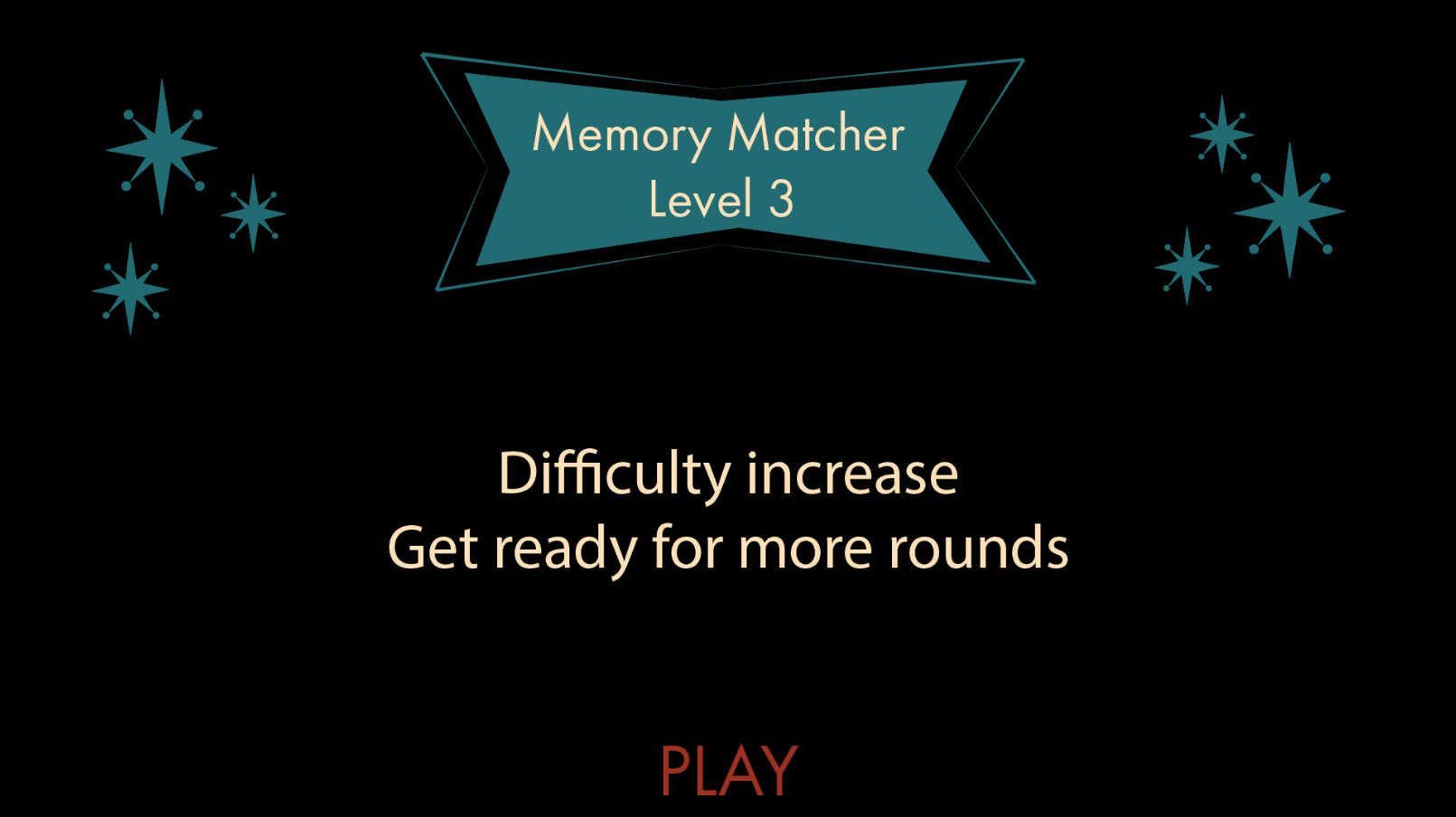 By now, the player should know how to play this type of mini game. Instead of an explanation, there is a warning that says there are more rounds so they are prepared.