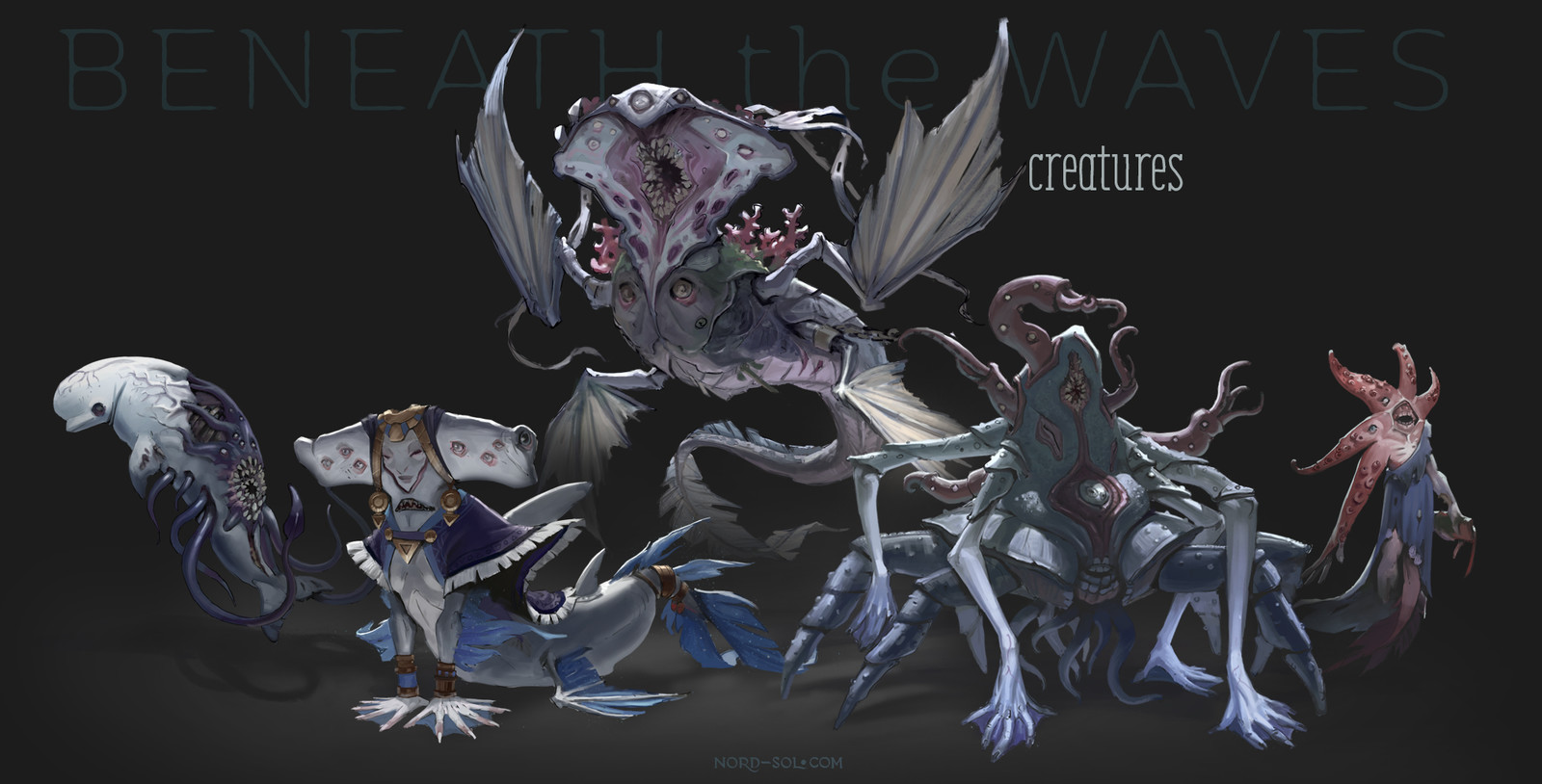Beneath the Waves — Creatures pack
