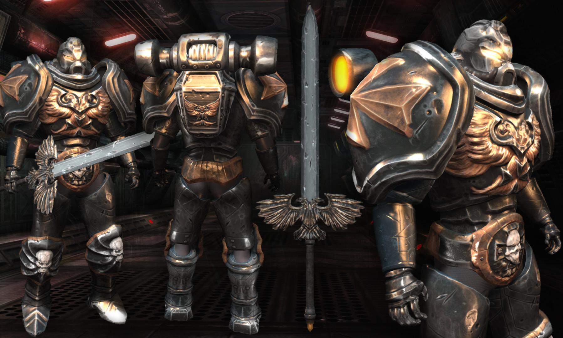 Artstation Black Templar Warhammer 40k Mirza Mandzo