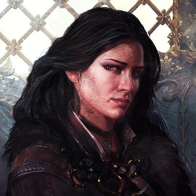 Murat gul yennefer by muratgul