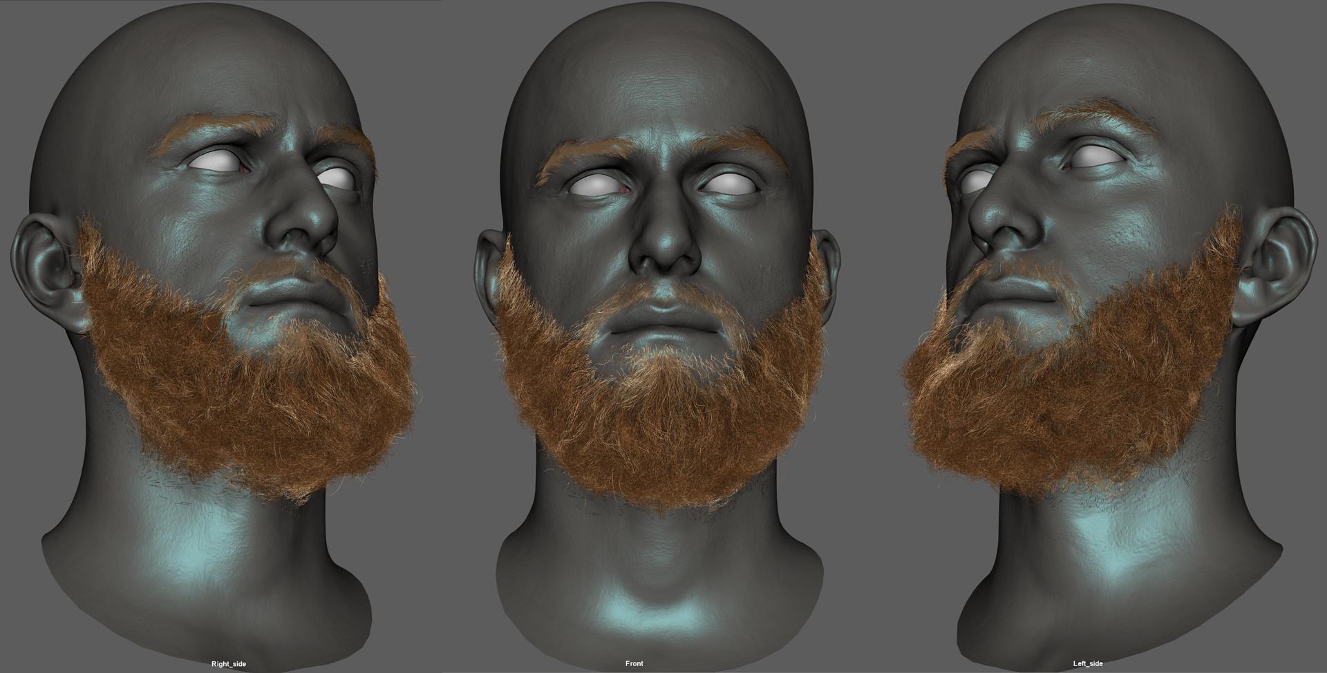 Florian croquet beard hd